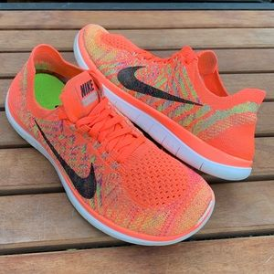 NIKE FREE 4.0 FLYKNIT Athletic Running Shoes